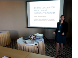 2016 02 18 Czech Republic Prague - speaking at the Women in Leadership conference